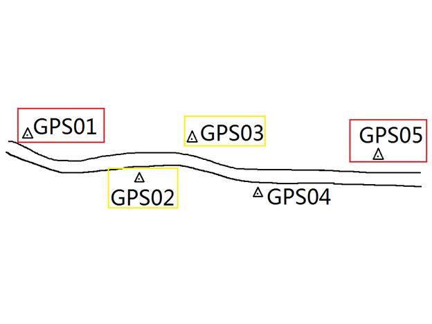 中海达RTK两个控制点如何计算四参数?